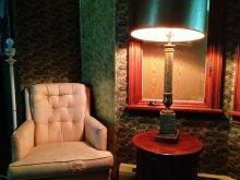 Lampa w koncie salonu z fotelem